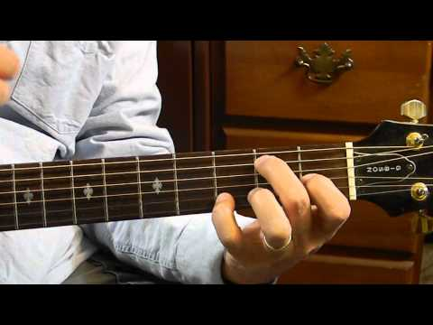 E7 Chord -  How to Play Basic Guitar Chords for Beginners - Learn Acoustic Guitar Chords
