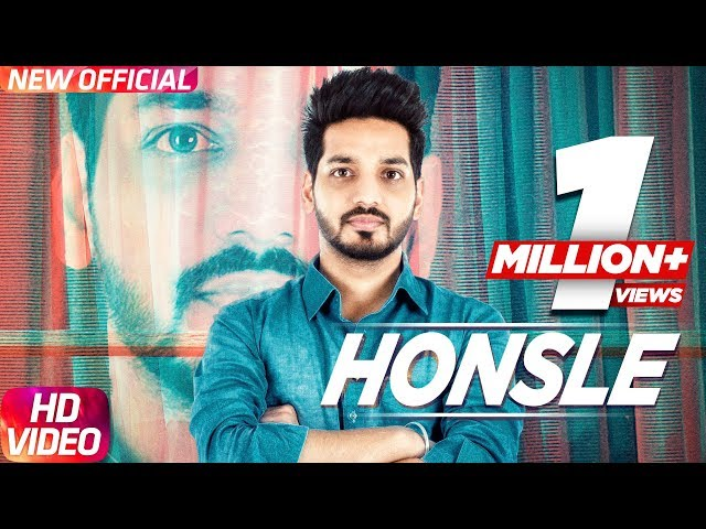 Honsle Full Video Song | Gurjazz | Sunny Virk | Latest Punjavi Song 2017