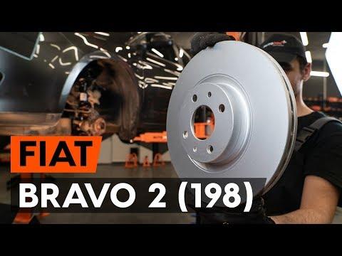 Come sostituire dischi freno anteriore su FIAT BRAVO 2 (198) [VIDEO TUTORIAL DI AUTODOC]