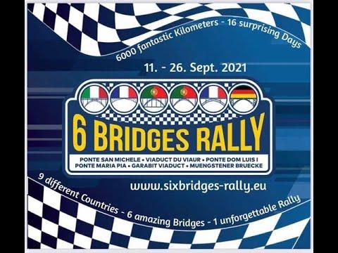 teaser 6 bridges rallye,