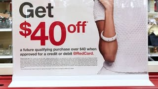 TOP TIP TUESDAY... How to get $40 OFF $40 TARGET PURCHASE 👏 SIGN UP FOR THE TARGET RED CARD