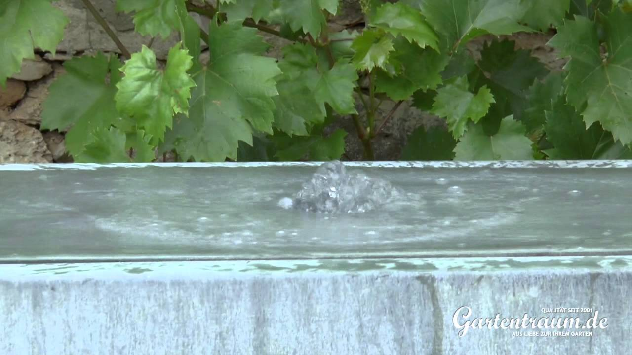 Moderne Zinkbrunnen für den Garten: Tipps zum Aufbau & Brunnen im Test