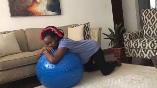 HOW I NATURALLY INDUCED MY LABOUR - Gym ball Exercises.