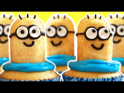 Add Some Sense Of Humor To Parties~Minion Cupcake!