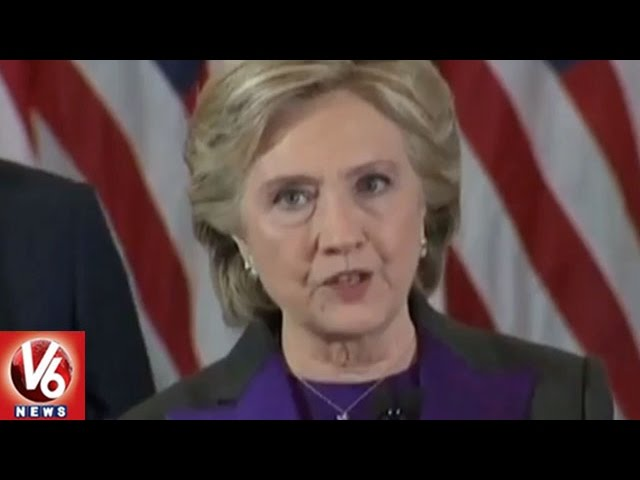 Hillary Clinton Concession Speech After Defeat On Donald Trump