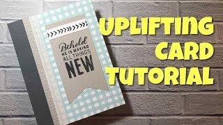 Uplifting Bible Verse Card | Close To My Heart | Tutorial