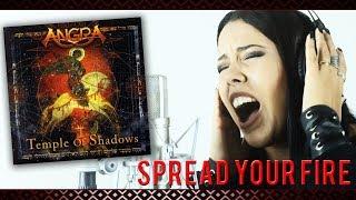 Angra - Spread Your Fire  (Vocal Cover by Villu Castelo)