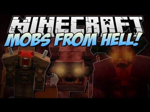 Minecraft | HELL MOBS! (Doom, Behemoths & More!) | Mod Showcase [1.6.2]