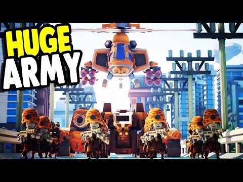 ALL NEW CAMPAIGN | Big Armies, Ambushes & TANKS | Tiny Metal First Look Gameplay