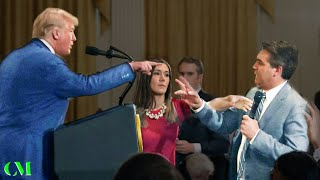 Donald Trump VS Jim Acosta (CNN) & NBC Crony - ALPHA BATTLE Analysis