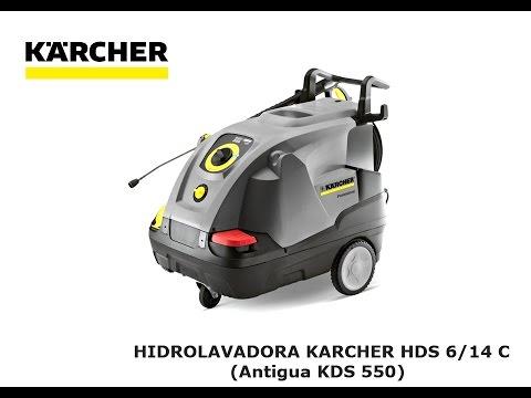 HIDROLAVADORA KARCHER HDS 6/14 C