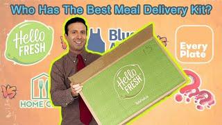 BEST MEAL KIT DELIVERY SERVICE (HONEST REVIEW) - Hello Fresh, Blue Apron, Home Chef, EveryPlate