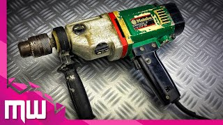 Old Metabo Drill Restoration  Drill 1975  SB 800/6 S-automatic