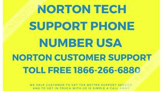 Norton Tech Support Phone Number USA