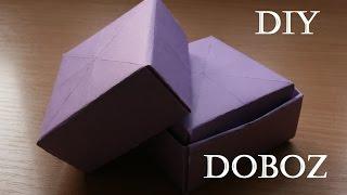 A legegyszerűbb DIY doboz ékszereknek, ajándéknak