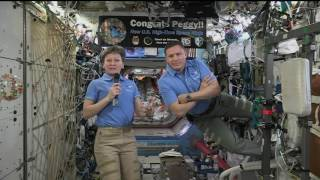 President Trump and Ivanka Have Video Chat with Space Station Astronauts