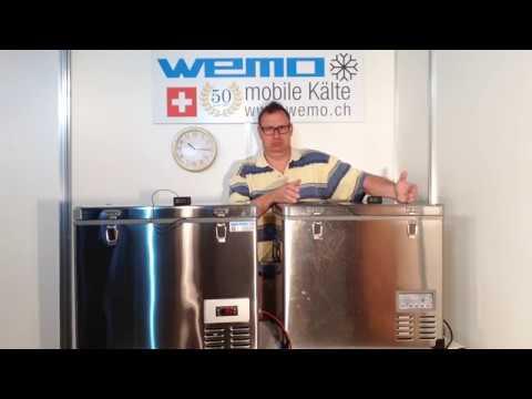 Gefrierbox Tiefkühlbox WEMO B56GTA Vergleich Kompressorkühlbox