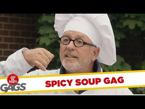 Troll Hài Hước 2015 - Extremely Spicy Soup Prank