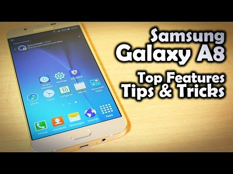 15 tips and tricks on samsung galaxy a8
