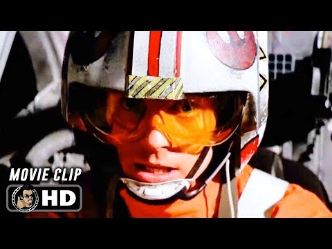 STAR WARS: A NEW HOPE Clip - Death Star Attack (1977) Mark Hamill