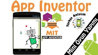 App inventor-Mini oyun yapımı
