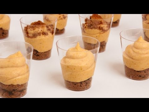 Pumpkin Pie Mousse Shots Recipe – Laura Vitale – Laura in the Kitchen Episode 860