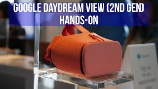 Google Daydream View (2nd gen) hands-on
