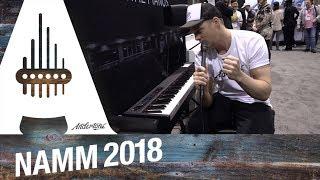 Korg - D1 Digital Stage Piano - NAMM 2018 | Kholo.pk