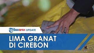 Ditemukan 5 Benda Mirip Granat Peledak Aktif di Cirebon