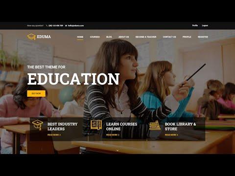 How to Create Online Course, LMS, Educational Website like Udemy with WordPress 2020 - eduma Theme