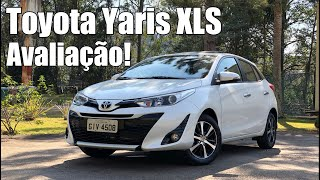 Toyota Yaris XLS Hatch 2019 avaliação - Falando de Carro