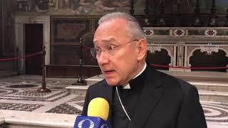 Los rosarios del Papa para las familias de las víctimas del gasoducto