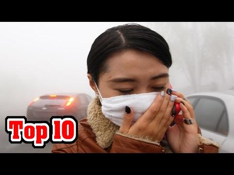10 tien landen die de grootste vervuilers zijn (08.35)
