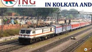 Avail Most Ecumenical Train Ambulance Service in Kolkata and Patna by King