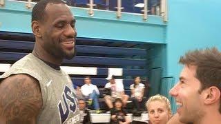 Download Youtube: USA Basketball Trick Shot (Feat. Lebron, Kobe, Carmelo etc.)
