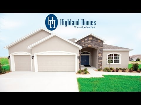 Windemere home plan by Highland Homes - Florida New Homes for Sale