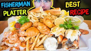 How To Cook A FISHERMAN PLATTER