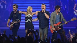 Taylor Swift Ft. Rascal Flatts - What Hurts the Most (DVD The RED Tour) Bônus