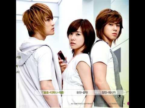SNSD (Tae Yeon, Jessica, Tiffany, Seo Hyun) - Because I'm A Girl [FM Inkigayo 070914]