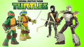 Tortues Ninja Figurines Mutations TMNT Mashers Jouet Toy Review Juguetes