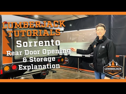 Sorrento Rear Door Opening & Storage Explanation