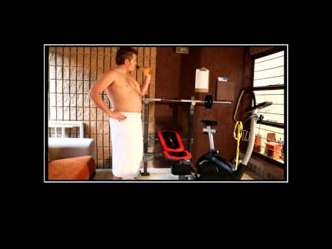 Home Gym - Motivational Video Poster