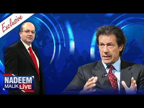 Imran Khan Exclusive | Nadeem Malik Live | SAMAA TV | 29 July 2017