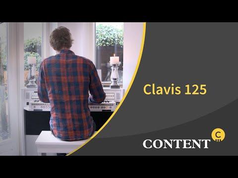 Content Clavis 125 wit eiken
