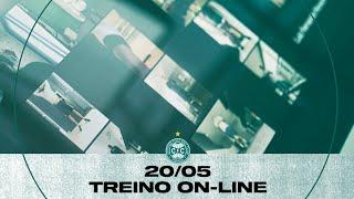 "Treino on-line Coritiba - 20/05"","