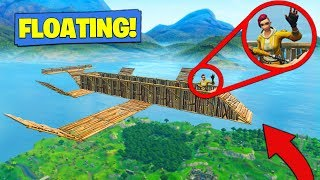 How To Build A *FLOATING BASE* In Fortnite Battle Royale!