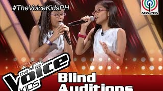 """The Voice Kids Philippines 2016 Blind Auditions: """"Like I'm Gonna Lose You"""" by Ezra and Elisha"""