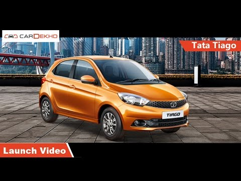 Tata Tiago | Launch Video | CarDekho.com