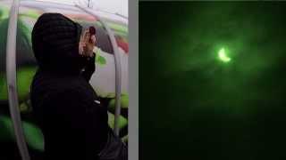 preview picture of video 'Saulės ir Mėnulio užtemimas 2015m. Klaipėda Solar and lunar eclipses Lithuania Klaipeda'