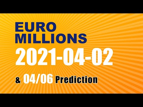 Winning numbers prediction for 2021-04-06|Euro Millions